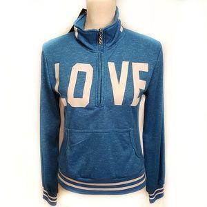 NWT Supernova small 1/4 zip women's sweatshirt